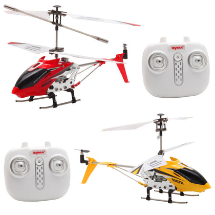 Syma S107H Gyro Metal 2.4G Radio 3.5H Mini Helicopter RC Remote Control Altitude Hold RC Drone for Toy Gift