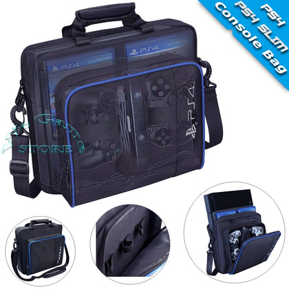 PS4 Case PS4 Slim Console Travel Bag Play Station PS 4 Accessories Hand Bag for Sony Playstation 4 PS4 Games