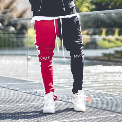 Cotton Men Joggers Fitness Gym Pants