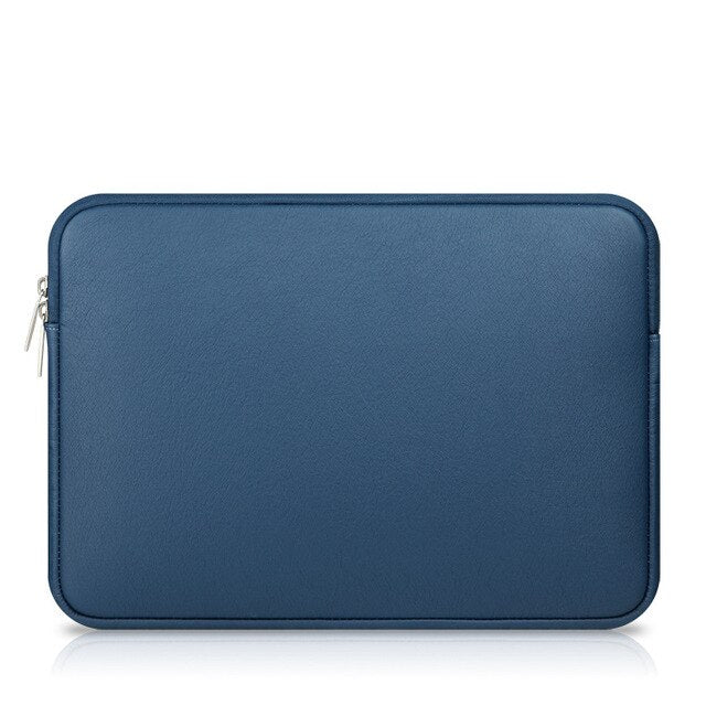 Leather Laptop Bag for Macbook A1706 1708 Mac Book Pro 13 15 Air 13 Shockproof PU Waterproof Sleeve Case for Xiaomi