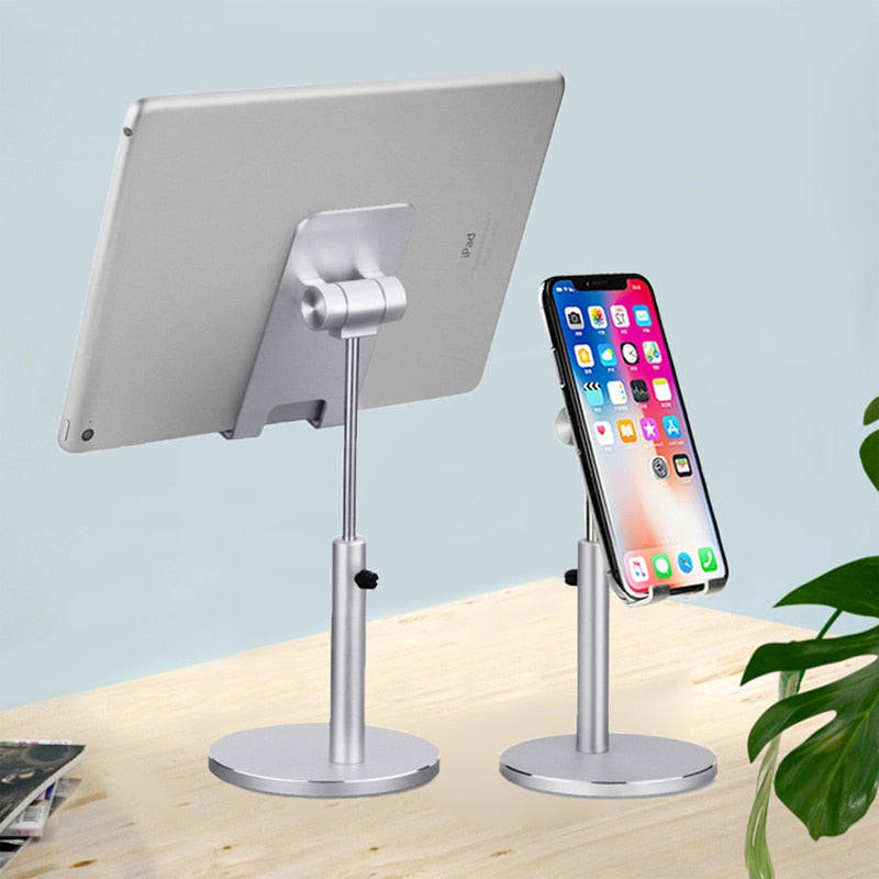Tablet holder Desktop mount Stand phone holder support samsung Xiaomi iPad iPhone huawei for iPad 7.9 9.7 10.2 11 12.9 inch