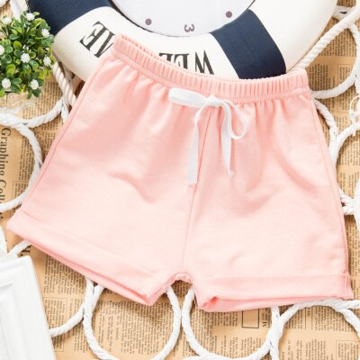 Wholesale 7 Colors Cool Thin Children Shorts for Girls Baby and Boys 1-9 year