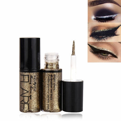 1PC Professional Makeup Silver Gold Color Liquid Glitter Eyeliner New Shiny Eye Liners for Women Eye Pigment Korean Cosmetics