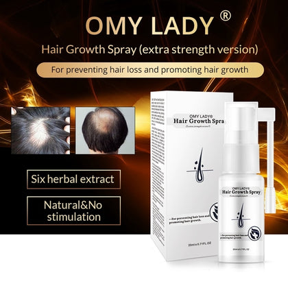 Anti Hair Loss Hair Growth Spray Essential Oil Liquid For Men