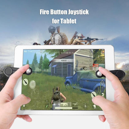2 Pcs For PUBG Mobile for Touch Gamepad Joystick Gaming Trigger Shooter Controller Fire Button Aim Key For iPad Android Tablet
