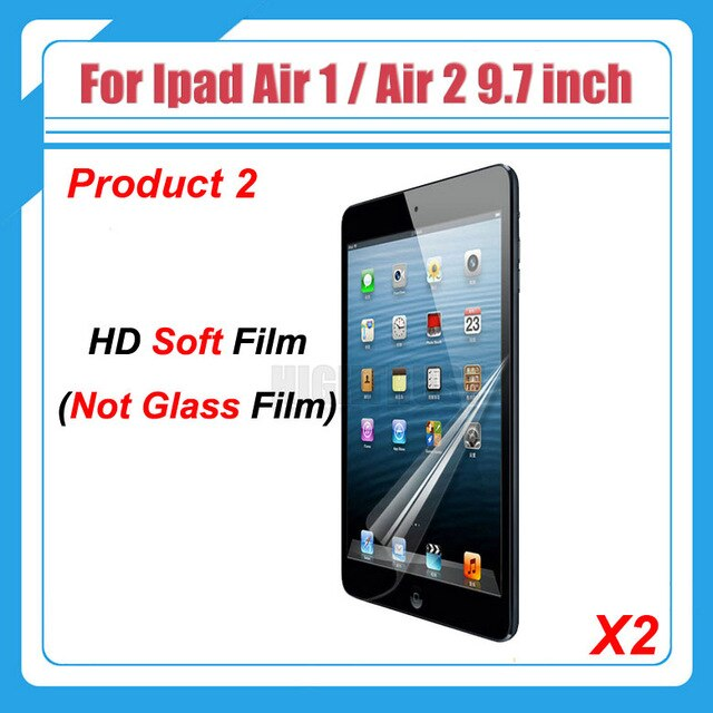 "Explosion-Proof Tempered Glass Film For Apple iPad air 1 2 9.7"" A1474 A1475 A1476 A1566 A1567 Tablet Screen Protector Guard"