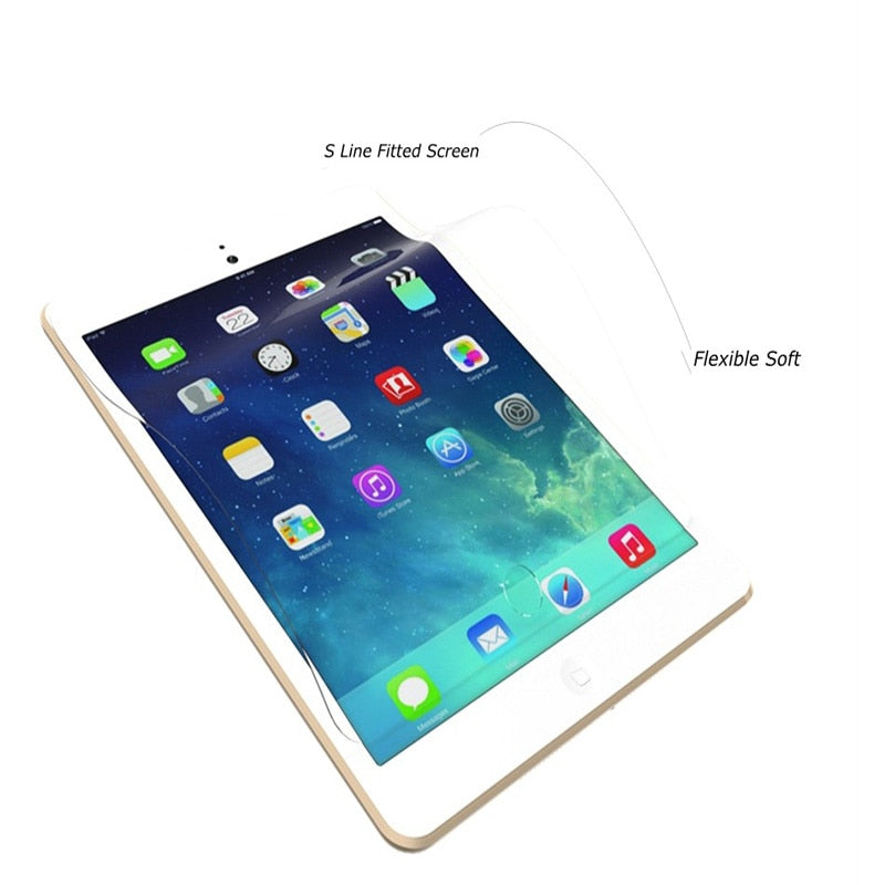 "Screen Protector For iPad Pro 12.9"" Film HD Soft Front Screen Guard Protective Film For Apple New iPad Pro 12.9 inch Tablet 2017"