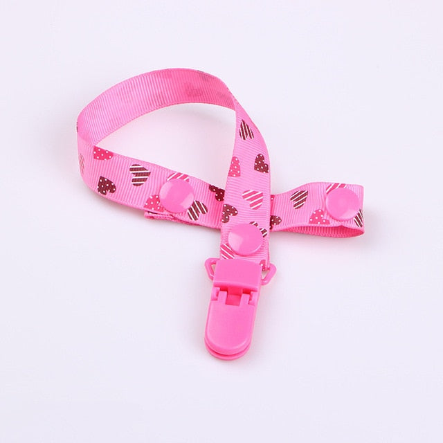 1PC New Baby Pacifier Clip Pacifier Chain Dummy Clip Nipple Holder For Nipples