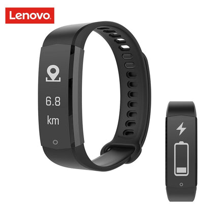 Lenovo HX06H Smart Bracelet 5ATM Waterproof Heart Rate Monitor Smart Band 20 Days Standby for iOS Android Sports Watch