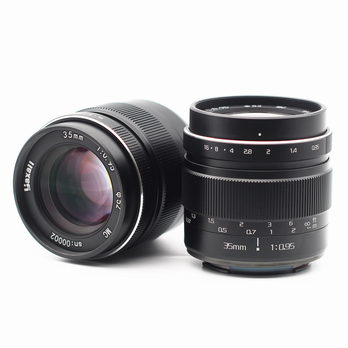 35mm F0.95 Manual E mount M43 MFT Fuji X EF-M Mount Prime Lens for Sony Fujifilm Olympus Panasonic Canon Camera 35 f/0.95