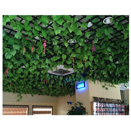 2.5m Artificial Decoration Vine Delicate Artificial Ivy Leaf Garland Plant Vine False Foliage Wedding Party Decoration Supplies