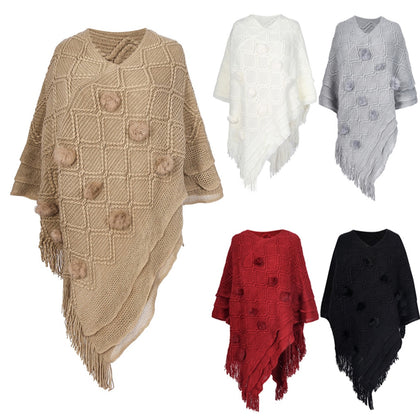 Women's ponchos and capes top