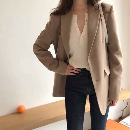 Spring New Fashion Blazer Jacket
