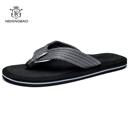 Summer Men Flip Flops Comfortable Beach Sandals