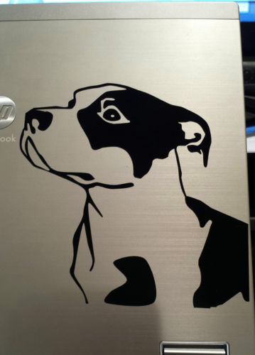 car sticker Pitbull Vinyl Decal Sticker Skin for ford kia and MacBook Pro Air Mac