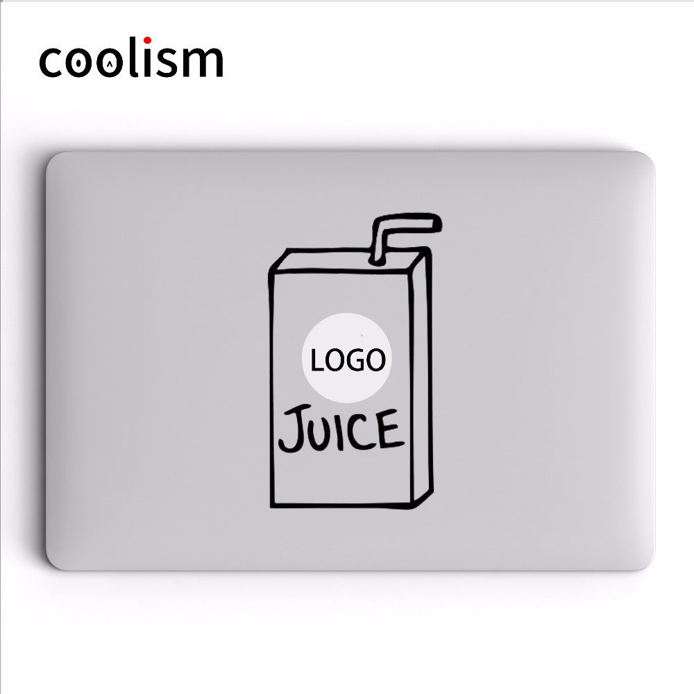 Juice Box Creative Laptop Sticker for Apple Macbook Air 13 Decal Pro Retina 11 12 15 17 inch Vinyl HP Mac Skin Notebook Sticker