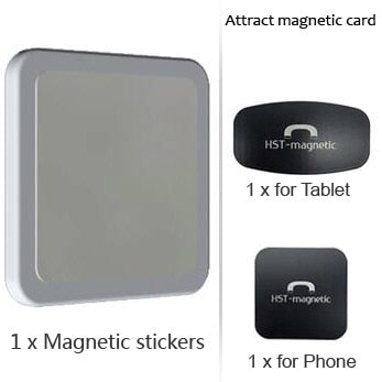 Wall Mount Tablet Magnetic Stand Magnet Adsorption Principle Convenience to pick-and-place Support All Tablets for iPad Pro Air