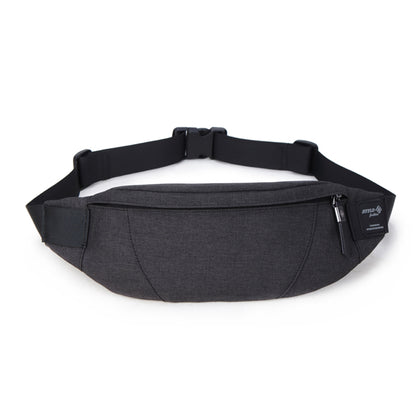 Black Waterproof Money Belt Bag Men Purse Teenager's Travel Wallet Belt