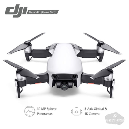 DJI Mavic Air drone 4K 100Mbps Video 3-Axis Gimbal Camera Flight Time 21 minutes with 4KM Remote Control Foldable RC Quadcopter
