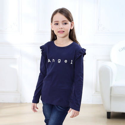 SheeCute New Arrival for spring Autumn girls Full sleeve Tees