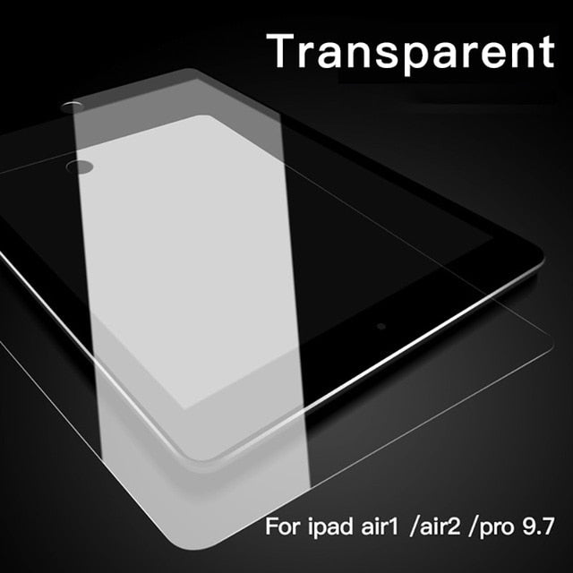 PZOZ Tempered Glass for Apple New iPad 9.7 2017 2018 Screen Protector glass for iPad Air 1 2 Pro 9.7 Protective Film Guard 9 7
