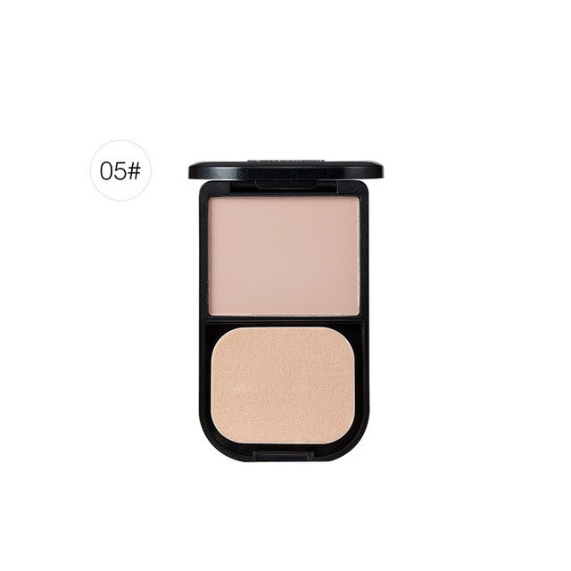Matte Loose Compact Powder Oil Control Soft Light Finish Long-lasting Powder