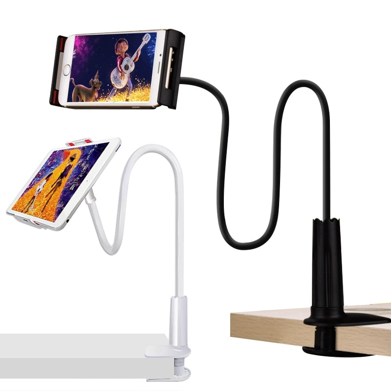 Tablet Stand Holder Flexible Desktop Phone Support For iPad Samsung Mi Pad 4 Xiaomi For iPhone Lazy Bed Tablet PC Stands Mount