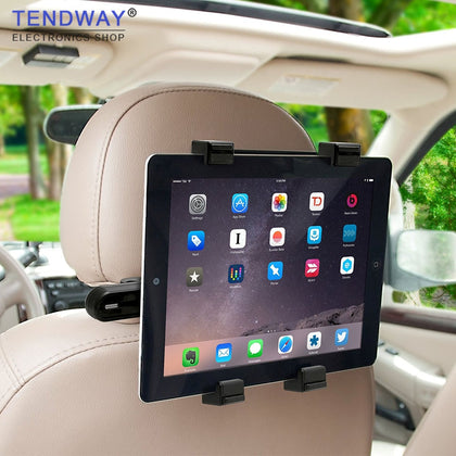 Tendway Car Tablet Stand for ipad pro mini Samsung 360 Degree Back Seat Tablet Car Holder Headrest 7-11 inch Tablet Mount Holder
