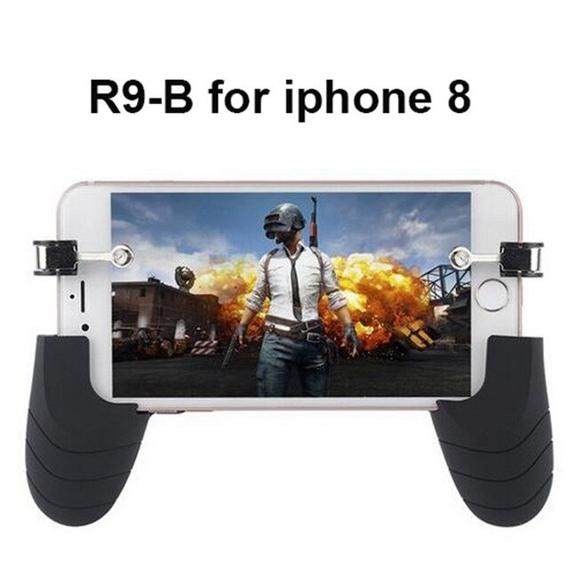 Phone Gamepad Trigger Fire Button Aim Key Smart phone Game L1R1 Shooter Controller for IPAD iphone8/X Gaming Console Accessories