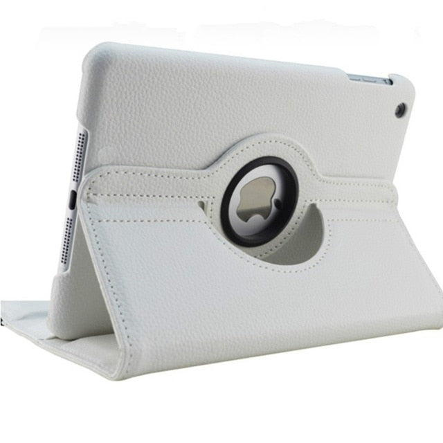 New for iPad mini 1 mini 2 mini 3 Case 360 Rotation Flip Stand A1432 A1454 Protective 7.9'' Casefor iPad mini 1 2 3 Smart Cover