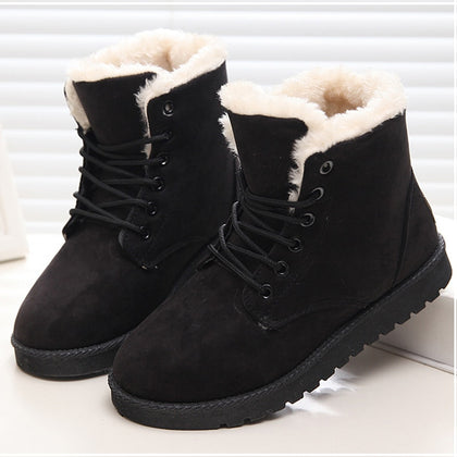 Women Boots Winter Shoes Woman Super Warm Snow Boots