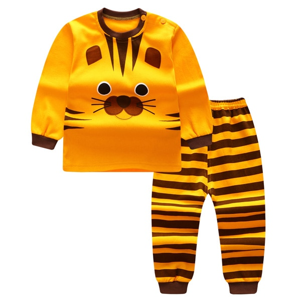 2 Pcs Baby Boy Clothes Cotton Baby Girl Clothing Sets