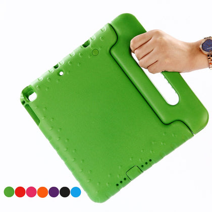 Case for ipad air / air 2 9.7 inch hand-held Shock Proof EVA full body cover Handle stand case for kids for iPad 2017 2018 case
