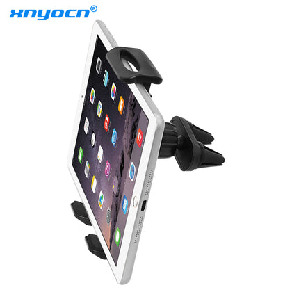 Car Air Vent Double Mount Holder Stand For 7 to 11 inch ipad mini Pro Air Samsung Galaxy Tab Tablet PC for huawei xiaomi Tablet