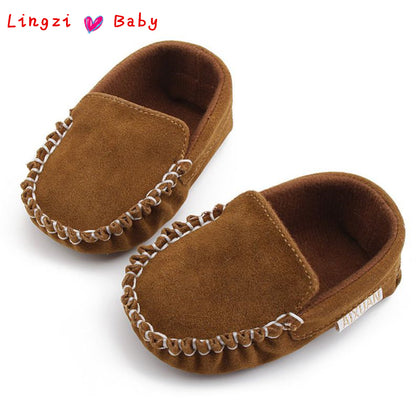 Newborn Baby Boy Girl Shoes First Walkers Baby Moccasin Shoes