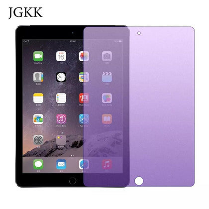 Anti Blue Light Tempered Glass Screen Protector film For iPad 2 3 4 5 6 Anti-Blue Ray Glass Guard For iPad 2017 2018 9.7 inch