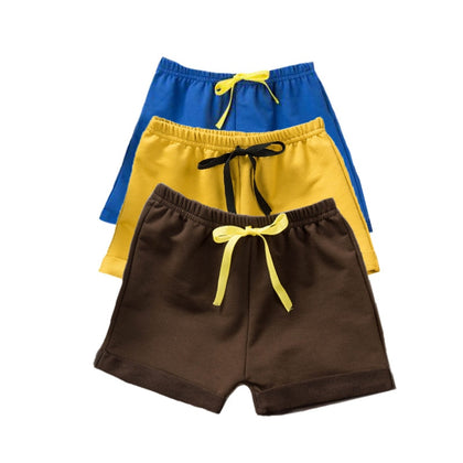 Cotton Baby Boy Shorts Solid Baby Shorts PP Pants Summer Thin Baby Boy Clothes