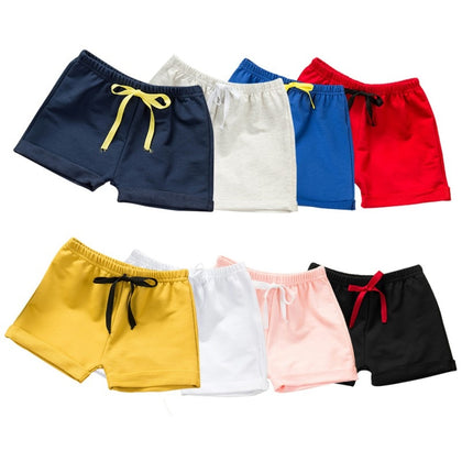 Summer Children Shorts Cotton Shorts For Boys Girls Shorts