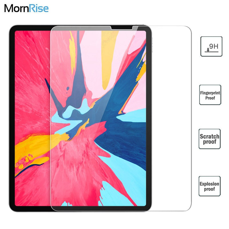 9H Full Cover Tempered Glass Film For Apple iPad Pro 11 2018 Screen Protector Protective Glass For iPad Air 10.5 Safety Guard
