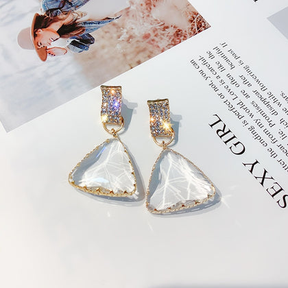 FYUAN Popular Geometric Drop Earrings for Women