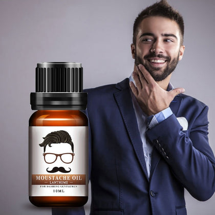 Natural Men Beard Smoothing Beard Gentlemen Styling Essential Care Oil