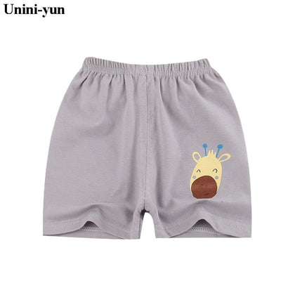 Unini-yun Summer thin children wear shorts Boy baby and girl pants