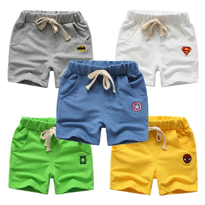 Summer Children Shorts Cotton Shorts For Boys Girls Pants