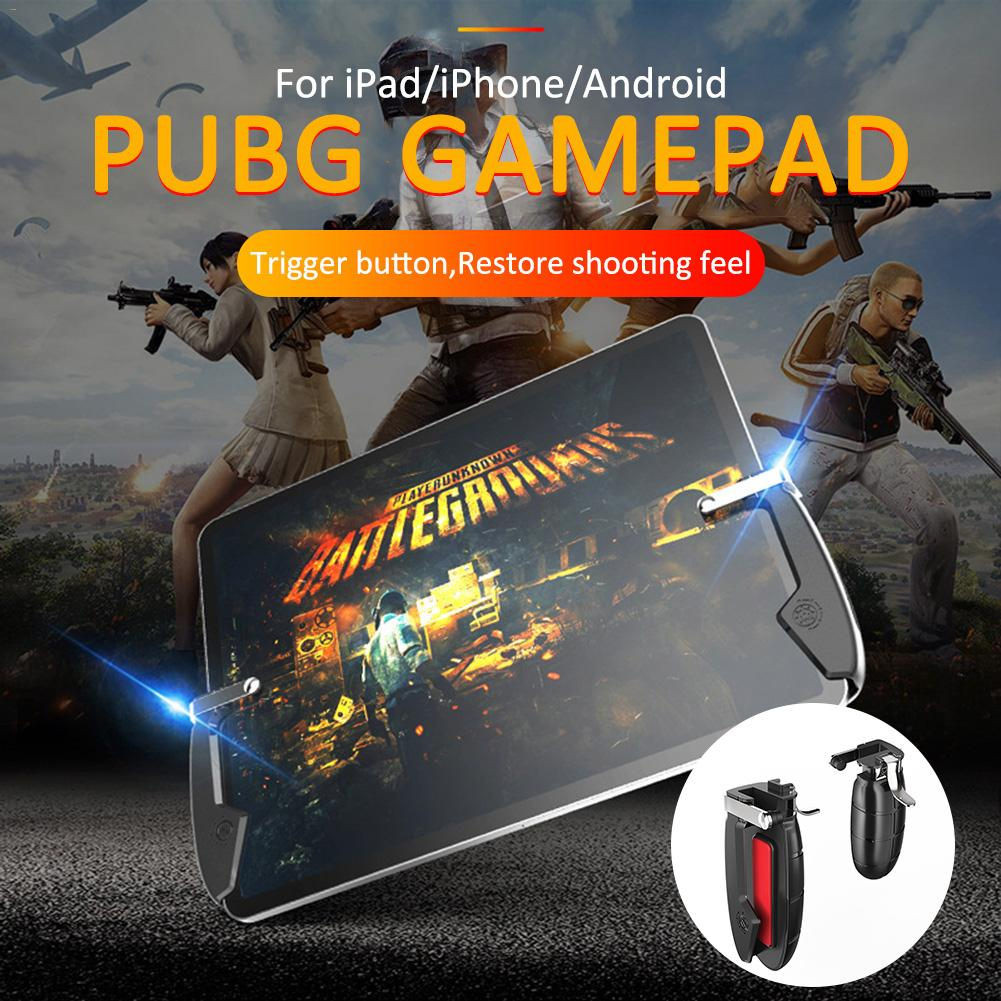 PUBG Gamepad For IPad Tablet iPhone Gaming Joystick Mobile Shooting For IPad And Android Phones Trigger Button Game Controller