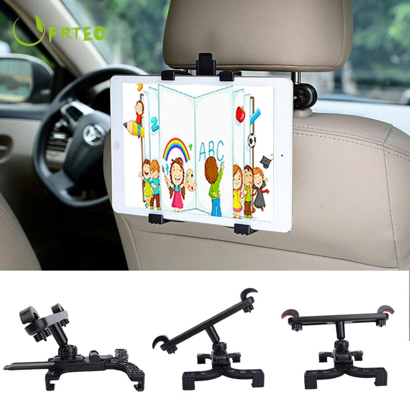 Universal Car Back Seat Tablet Stands Headrest Mount For iPad 2018 Pro 9.7 Air 1 2 Mini Samsung Xiaomi Tablet PC Stand Holder