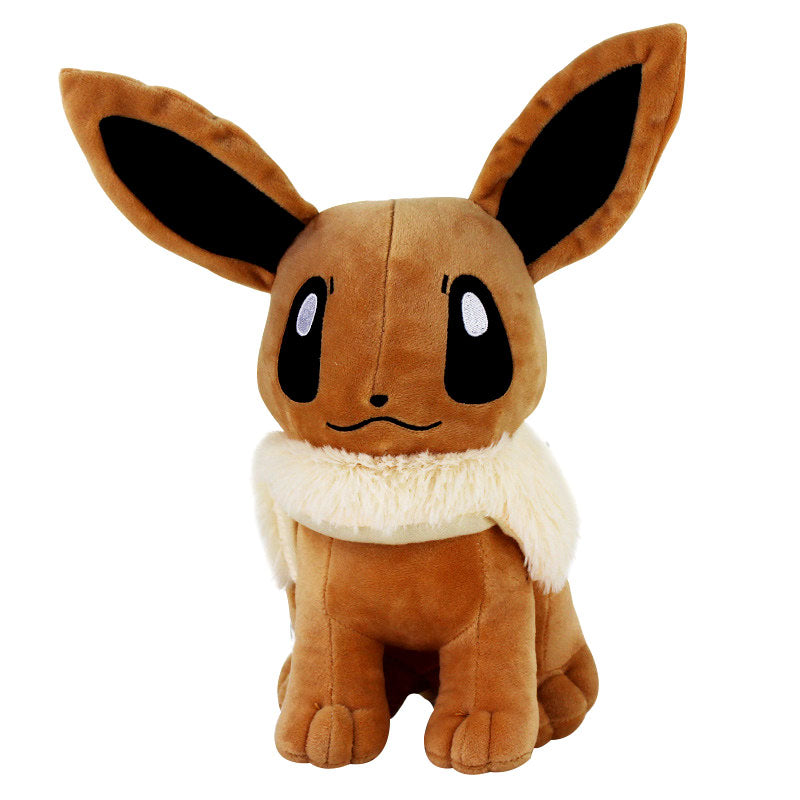 "12"" 30cm Big Sitting Eevee Plush Toys Soft Stuffed Animals Toy Gift Plush Dolls For Kids Baby Gift Toys"