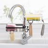 Multifunctional Faucet Drainage Shelf Dishwashing Sponge Storage Holder Bathroom Caddy Organizer
