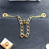 Handbag Chain Adjustable Buckle