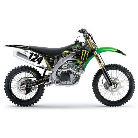 Factory Effex Monster Kawasaki Graphics Kit