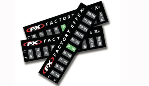 Factory Effex Temperature Sticker